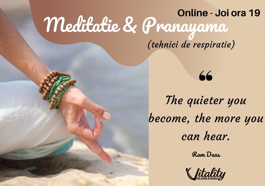 clase online meditatie si pranayama