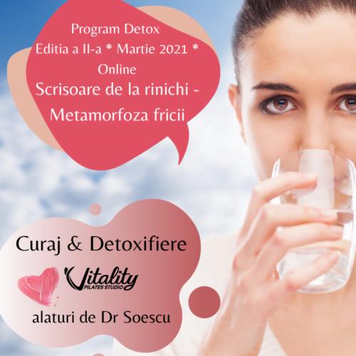 program detoxifiere rinichi dr soescu