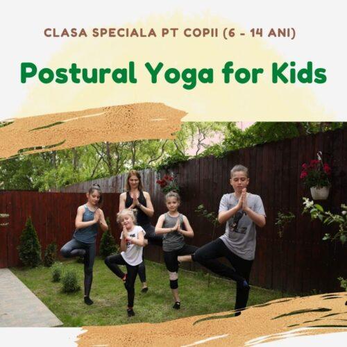 postural for kids yoga